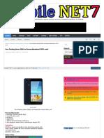 Cara Flashing Advan S50G via Researchdownload 100% work