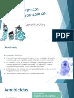 Antiprotozoarios y Antihelminticos