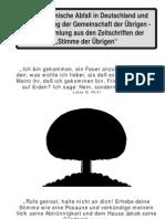 Der Kurs der STA - Der Ökumenische Abfall in Deutschland und die Gründung der Gemeinschaft der Übrigen