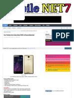 Cara Flashing Instal ulang Advan S50K via Researchdownload