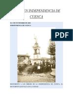 Resumen Independencia de Cuenca