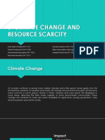 5. Climate Change and Resource Scarcity