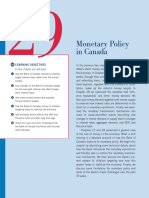 Monetary Policy in Canada