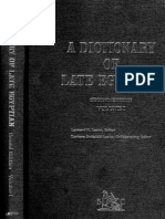 20 a Dictionary of Late Egyptian