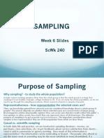 Sampling Imporant