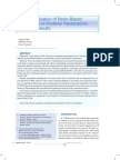 Clinical Evaluation of Resin Based Composites (1)