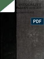 GOBINEAU, Joseph. Inequality of Human Races