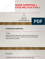Sindrome Dispepsia + DIABETES MELITUS TIPE 2