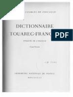 DictionnaireTouareg FranaisDialecteDeLahaggarT.I Text