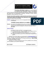 Guideline for Post Doctoral Fellowship for Women With Break in Career 0