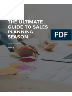 The Ultimate Guide to Sales Planning Season