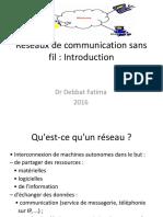 Réseaux de Communication Sans Fil