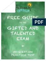 Altiora Free Guide to the Gifted and Talented Exam-Practice Test-Scaled for Print-95