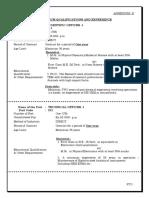 Minimum Qualifications and Eligibilty - Annexure -II_0