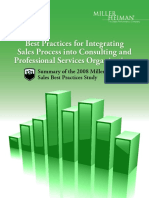 Consulting and Services Industry Report