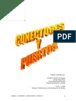Trabajo de Conectores y Puertos 1asir