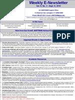 Newsletter 09 08 2010