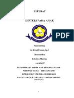 Referat Difteri Beka
