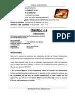 Tarea Nº 4 Derecho Constitucional ..
