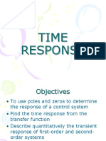 Time Response Lecture Note