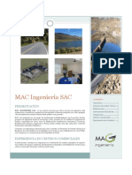 Brochure MAC Ingenieria SAC