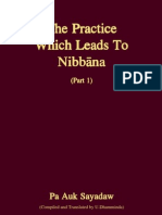 Practice Leading to Nibbana