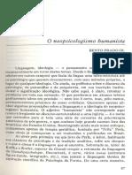 BENTO PRADO - O Neopsicologismo Humanista