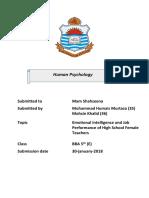 Intelligence Psychology