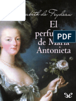 Feydeau Elisabeth de - El perfumista de Maria Antonieta.epub