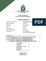 Administacion de Ventas 2014
