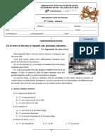 Teste de Francês Le Logement Versao B -8ºano