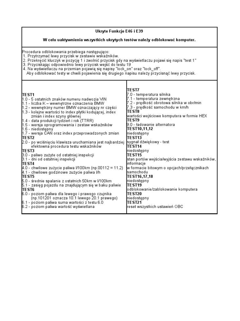 bmw e46 instrukcja obsługi pdf chomikuj