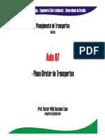 Aula 07 Planejamento - Plano Diretor