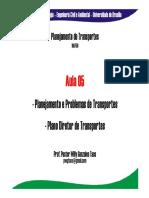 Aula 05 - Problemas - Planejamento - Plano Diretor