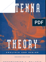 166296230 Antenna Theory Analysis and Design 2nd Edition Contantine a Balanis PDF