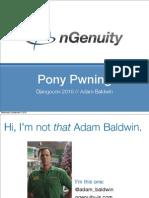 nGenuity Djangocon2010 Pony Pwning