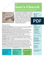 st saviours newsletter - 11 feb 2018