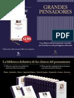 CATÁLOGO GRANDES PENSADORES