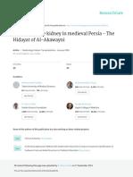 Diseases of the Kidney in Medieval Persia - The Hi