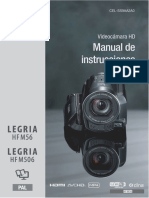 LEGRIA HF M56 506 Instruction Manual ES