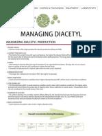 Managing Diacetyl