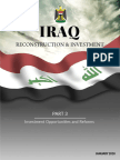 Iraq Reconstruction and Investment Part 3 Investment Opportunities and Reforms
