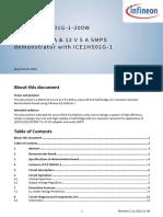 Infineon ApplicationNote EvaluationBoard EVAL1HS01G 1 200W an v02 11 En