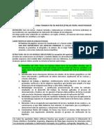Modelo de Estructura Para Trabajo Fin de Máster (Tfm) de Perfil Investigador