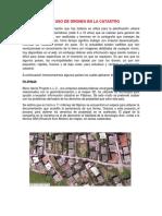Aplicación Del Uso de Drones en La Catastro (1)