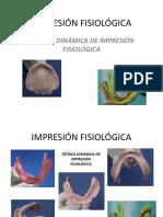 Impresión Fisiológica 2 y Encajonado