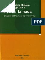 Pensar la nada Ensayos sobre filosofía y nihilismo - L. Sáez (Eds.).pdf