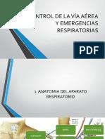 Control de La via Aerea y Emergencias Respiratorias