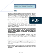 Tatacara serta garis panduan pengunaan sistem e-penawaran KPM Tahun 2018