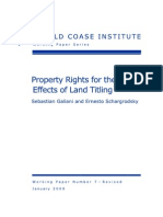 Property Rights for the Poor